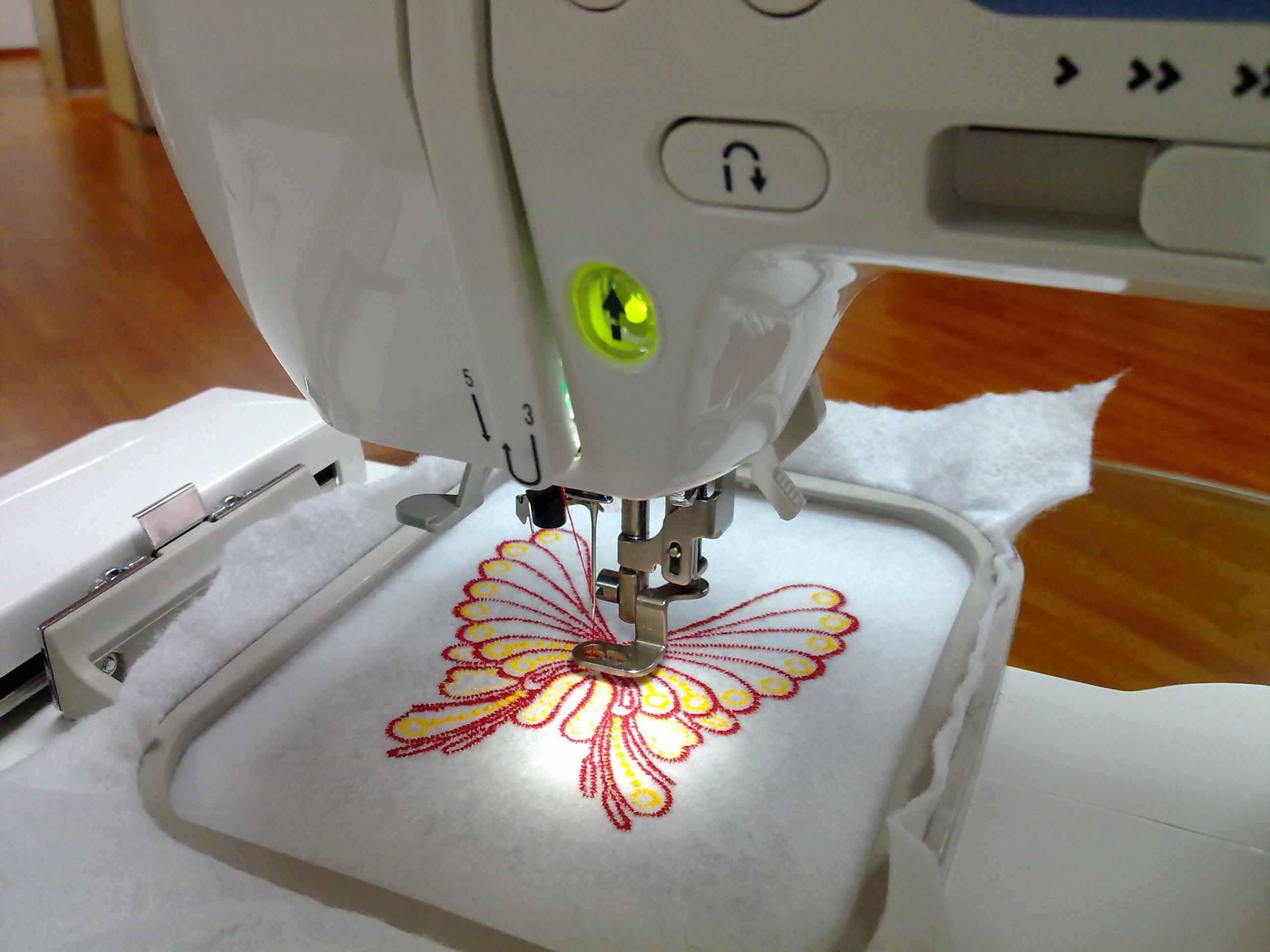 Resultado de imagen para bordar en maquina de coser