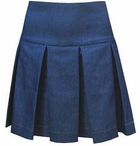 falda-pliegues